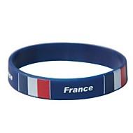 프랑스 깃발 본 2014 월드컵 실리콘 손목 밴드