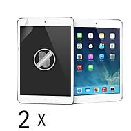 [2 pacotes] de alta qualidade anti-impressão digital protetor de tela para iPad do ar