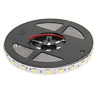 z®zdm 5m 72W 300x5050smd 3000-3500k varmt hvidt lys LED strip lampe (DC 12V)