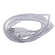 USB to Micro USB  Data / Charging  Woven Mesh Nylon Cable for Samsung / HTC / Nokia (200cm)