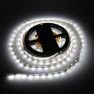 5M 24W 300x3528SMD 6000K Cool White Light LED-Streifen-Lampe (DC 12V)