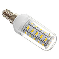 E14 7 W 36 SMD 5730 650 LM Warm White Corn Bulbs AC 220-240 V