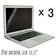 [3-Pack] Protecteur d'écran Preuve de haute qualité Invisible Shield Smudge pour MacBook Air 13,3 pouces