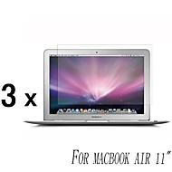 [3-Pack] High Quality Invisible Shield Smudge Proof näytönsuoja MacBook Air 11-tuumainen