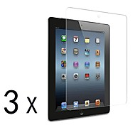[3-Pack] Premium High Definition Clear Screen Protectors for iPad 2/3/4
