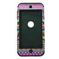 3-i-1 design Nationalitet Mönster Skyddande Hard Case för iPod touch 5