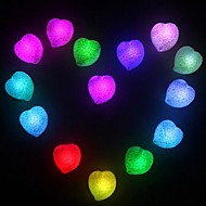 Coway amour romantique coloré en forme de coeur LED Night Light