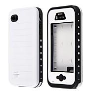 Redpepper Waterproof Metallic Speaker Design Soft Case for iPhone 4/4S (Assorted Colors)