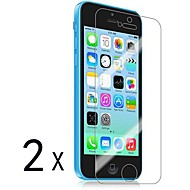 [2-Pack] Premium-High-Definition-Clear Displayschutzfolien für iPhone 5C