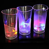Coway baren dedikert light-emitting ledet night vase glass