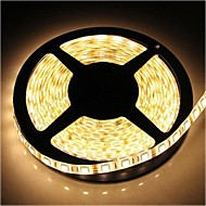 Bandes Lumineuses LED Flexibles - DC12 - (V) - 72 - (W Blanc chaud - 5050 SMD - 300LEDS - 5 - (M) - (