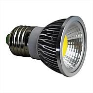 3W E26/E27 LED 스팟 조명 1 COB 280LM lm 따뜻한 화이트 / 차가운 화이트 AC 100-240 V