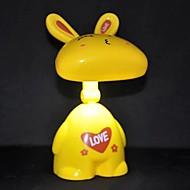 coway creativo del fumetto del coniglio di ricarica coniglio bello lampada tavolo pieghevole (colore casuale)