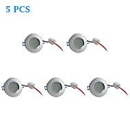 5 pcs 4.5 W 10 SMD 5730 310 LM Warm White Recessed Retrofit Ceiling Lights/Recessed Lights AC 220-240 V