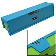 mini haut-parleur bluetooth v3.0 avec radio fm / aux / réveil / TF / port USB pour téléphone