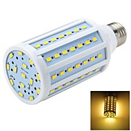 Marsing E26/E27 15 W 84 SMD 5730 1200-1500 LM Warm White T Spot Lights / Globe Bulbs / Corn Bulbs AC 220-240 V