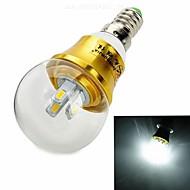 Zhishunjia E14 3 W 6 SMD 5630 280 lm LM Blue/Cool White Globe Bulbs AC 85-265 V