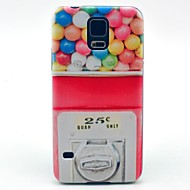 Mert Samsung Galaxy tok Minta Case Hátlap Case Rajzfilmfigura PC Samsung S5