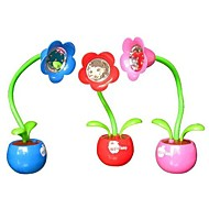 Coway Reading and Writing Lamp Apple Flower Lamp Creative LED Night Light(Random Color)
