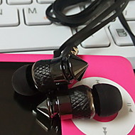 Słuchawki douszne w kształcie pocisków