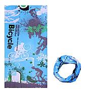 반다나 / 목 각반 / 모자 자전거 통기성 / 방풍 / 자외선 방지 / 착용 가능한 / 선크림 여성의 / 남성의 / 남녀 공용 블루 폴리에스터