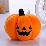 Juguete para Gato Juguete para Perro Juguetes para Mascotas Peluches Calabaza Halloween Textil