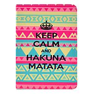 Hakuna Matata Tattoo Case for iPad mini 3, iPad mini 2, iPad mini
