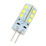 3W G4 LED-lampor med G-sockel 24 SMD 2835 180 lm Kallvit DC 12 V