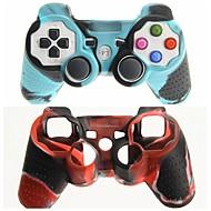 Zwei-Farben-Silikon Skin Cover Schutzhülle für PS3 Controller versandkostenfrei