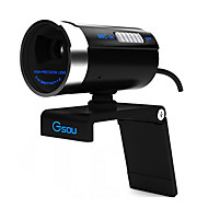 Gsou A20 High Definition UVC Computer Webcam with Microphone