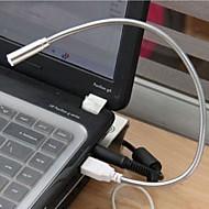 12PCS Portable PC Notebook Laptop Computer Keyboard USB Eye Protection Energy-saving LED Lamp Flexible Light