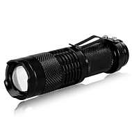 NF555 3-Mode CREE XR-E Q5 LED Flashlight (200LM, 1xAA/1x14500,Black)