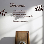 jiubai ™ 차 시간 홈 장식 벽 스티커 벽 데칼