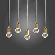 Κρεμαστά Φωτιστικά ,  Μοντέρνο/Σύγχρονο Πεπαλαιωμένο Χρυσαφί Χαρακτηριστικό for LED Mini Style ΜέταλλοΣαλόνι Υπνοδωμάτιο Τραπεζαρία