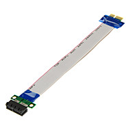 PCI-E 1X Male to 1X Female Extension Cables(20cm)