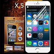 beskyttende hd skjermbeskytter for iPhone 6s / 6 pluss (5pcs)