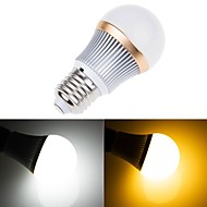 E26/E27 5W 5 SMD 5630 450 LM Warm White / Cool White Dimmable LED Globe Bulbs AC 220-240 V
