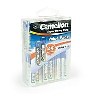 camelion super heavy duty AAA batterij in de verpakking doos van 24 stuks