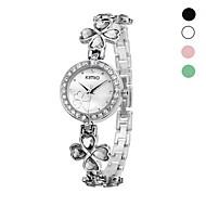 Damenmode kimio Marke Legierung analoge Quarz-Armbanduhr verschiedenen Farben