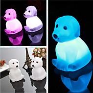 coway créative chien de cadeau romantique coloré veilleuse conduit