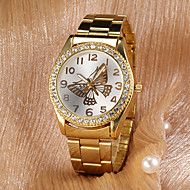 Women's Watch Fashion Butterfly Pattern Diamond Dial