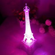 Coway Romantic Monochromatic Light Colorful Eiffel Tower LED Nightlight(Random Color)