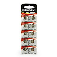 Camelion 1.5v bateria alcalina botão AG13 (10pcs)