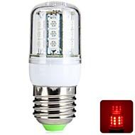 E26/E27 4 W 27 SMD 5050 300 LM Red T Corn Bulbs AC 220-240 V