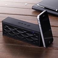 삼성 아이폰 노트북에 대한 고유 물 큐브 디자인의 블루투스 무선 미니 스피커 마이크