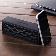 unika vatten kubdesign bluetooth trådlösa minihögtalare mikrofon för samsung iphone laptop