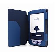 Protección magnética del cuero de la PU para Kindle 4/Kindle 5
