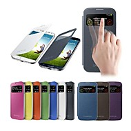 VORMOR® Smart View Screen Touch PU Leather Case for Samsung S4 9500 (Assorted Colors)