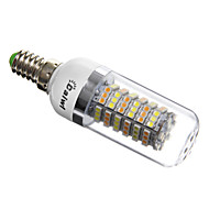 E14 / G9 / GU10 / E26/E27 6 W 120 SMD 3528 420 LM Natural White T Corn Bulbs AC 220-240 V