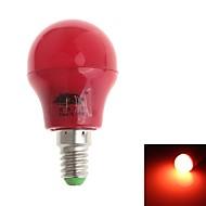 Pallolamput - Punainen - Koriste - G - E14 - 3.0 W